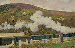 The Passing of the Train. Oil on panel. 35 x 55 cm, Inv. CTB.1995.36    Museo Carmen Thyssen         Native name Museo Carmen Thyssen   Location Málaga, Spain    Coordinates 36°43′17″N, 4°25′22″W      Established 2011   Websit