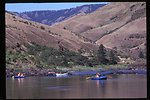 Rafts and dory  Lower Salmon River  Cottonwood Field Office  UCSC  Upper Columbia Salmon Clearwater District