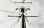 Shipboard Shoran antenna from below. On EXPLORER