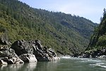 Wild section of the Rogue River from Grave Creek to Foster Bar May 19 to May 22.  Photo by John Craig