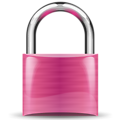 padlock purple