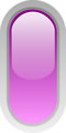 led rounded v purple