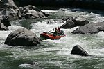 Boaters negotiate Blossom Rapids.