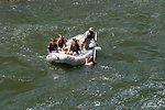 Boater at Grave Creek Falls