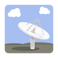 Satellite Dish Base Station