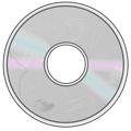 More Obviously Damaged Compact Disc