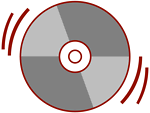 Stylized CD