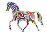 Waved Horse (Spring Version) 2009