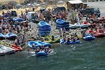 Over 200,000 people a year float the Lower Deshutes River.
