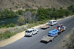 BLM Law Enforcement Rangers patrol the Lower Deschutes river and issue citations when necessary.