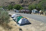 Oasis Campground along the Lower Deschutes River.