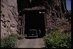 Historic tunnel near Dant in the Lower Deschutes Area.
