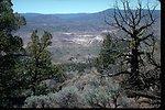 View of Bridge Creek Drainage area from Sutton Mountain.