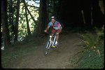 Mountain biking on the North Umpqua Trail.