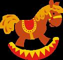 Toy Horse (CMYK)