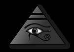 Piramide con el Ojo de Horus