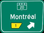 Panneau sortie / traffic sign exit