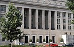 Department of the Interior building in Washington DC on 1849 C Street N.W.  Photo by Tom Iraci, July 2004.