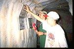 Boy Scouts National Jamboree: BLM caves exhibit.
