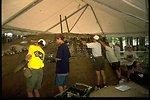Boy Scouts National Jamboree: BLM archeology exhibit. (Pit House)
