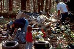 Junction City Jeepers clean up a hidden trash site on BLM lands