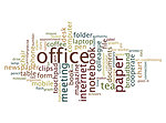 Office word cloud
