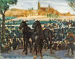 Cattle Fair in Salamanca Oil on canvas, 95 x 120 cm, Inv. CTB.2009.6    Museo Carmen Thyssen         Native name Museo Carmen Thyssen   Location Málaga, Spain    Coordinates 36°43′17″N, 4°25′22″W      Established 2011   Websit