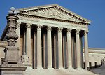 U. S. Supreme Court Building in Washinton DC.