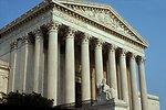 U. S. Supreme Court Buildng in Washington DC.