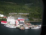 FAIRWEATHER tied up at ISC Ketchikan with the buoy tender PETITE and the Cutter ACUSHNET.