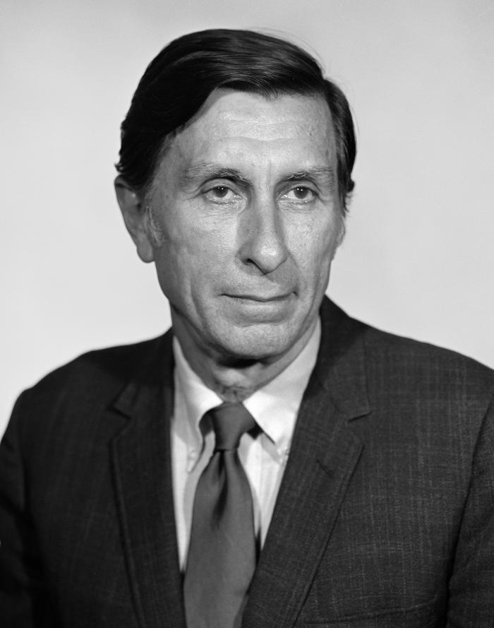 This photograph showed Centers for Disease Control official, Charles C. Shepard, M.D., who was internationally recognized for his work in le