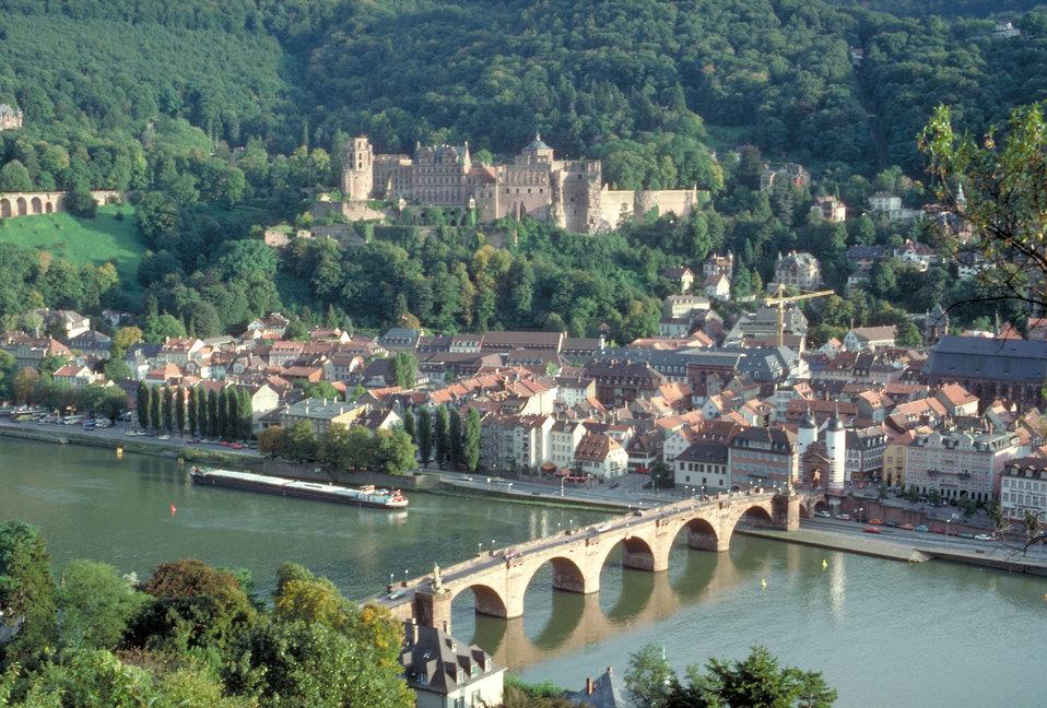 View of Heidelberg, Germany