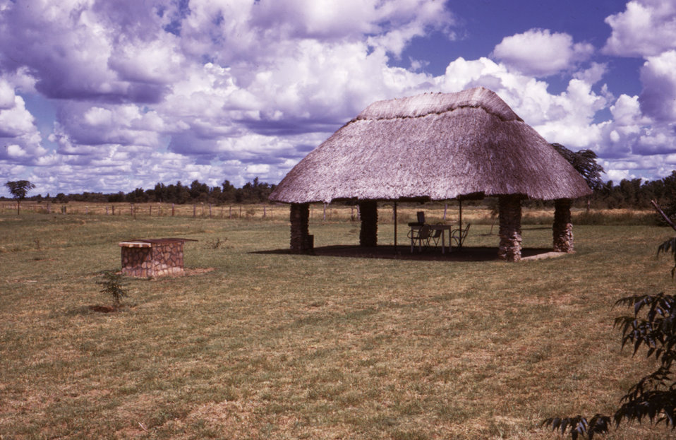 This Gwaai, Zimbabwean Campground, where two travelers stayed in 1975, was the site of a Marburg investigation after the same travelers were