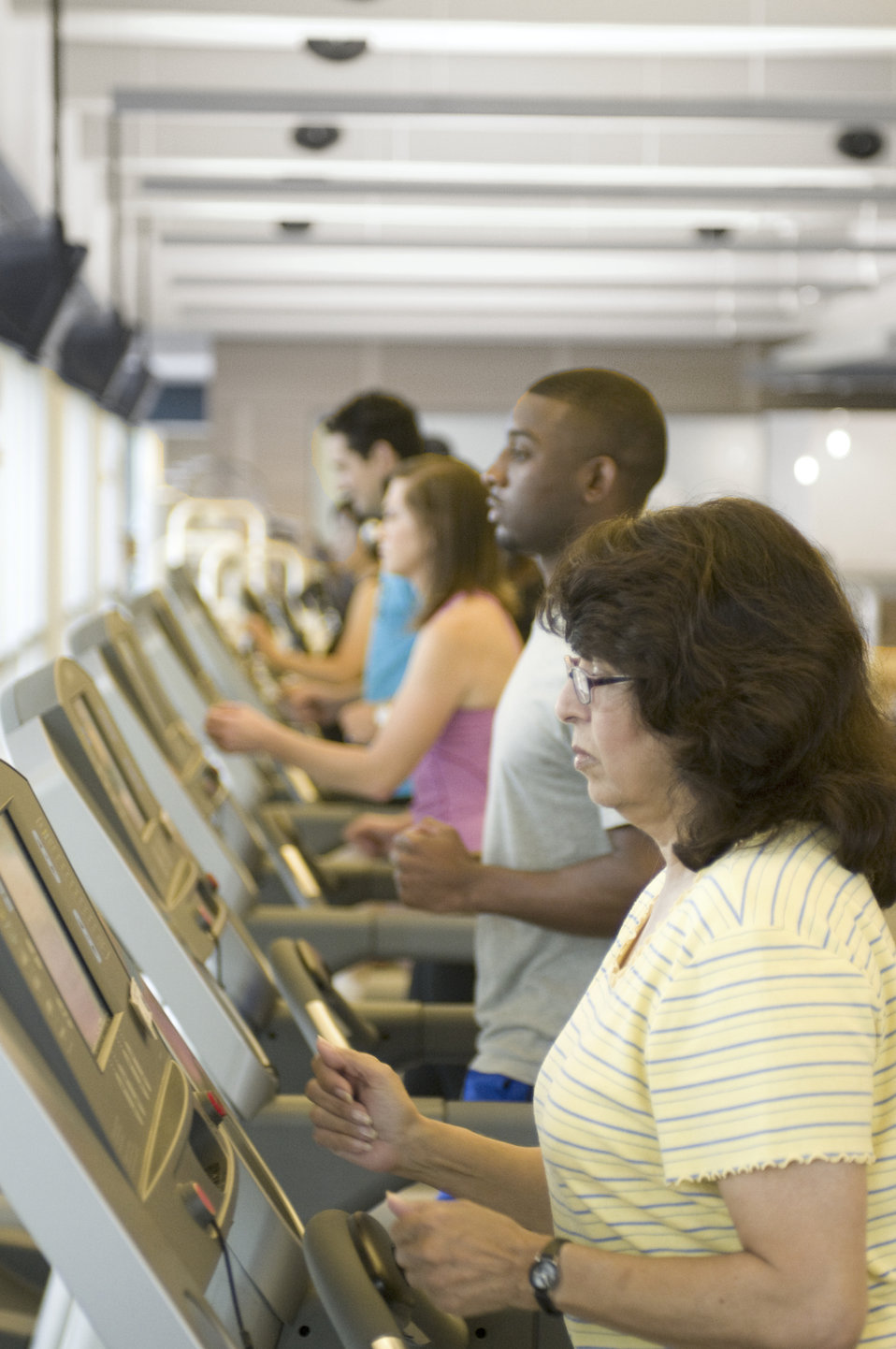 This image was captured on one of the Centers for Disease Control's (CDC) campuses, in the facility's fitness center, where a number of sche