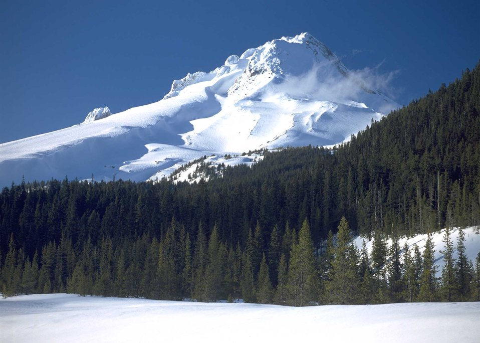 Scenic view of Mt. Hood, Oregon.