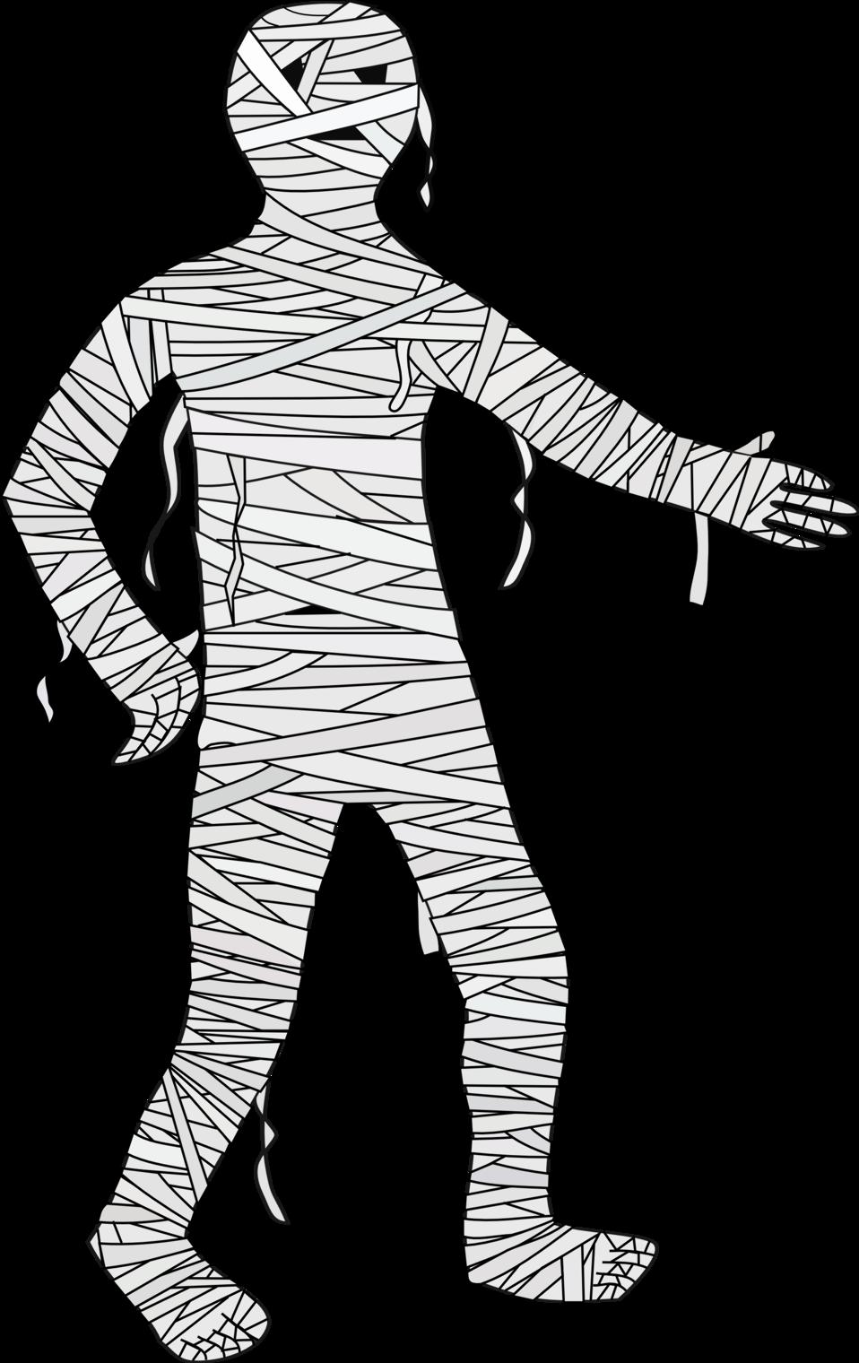 Illustration of a mummy