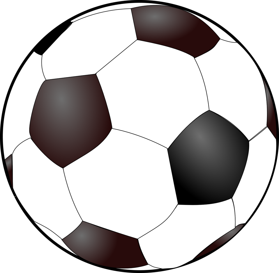 Illustration Of A Soccer Ball Public Domain Mark