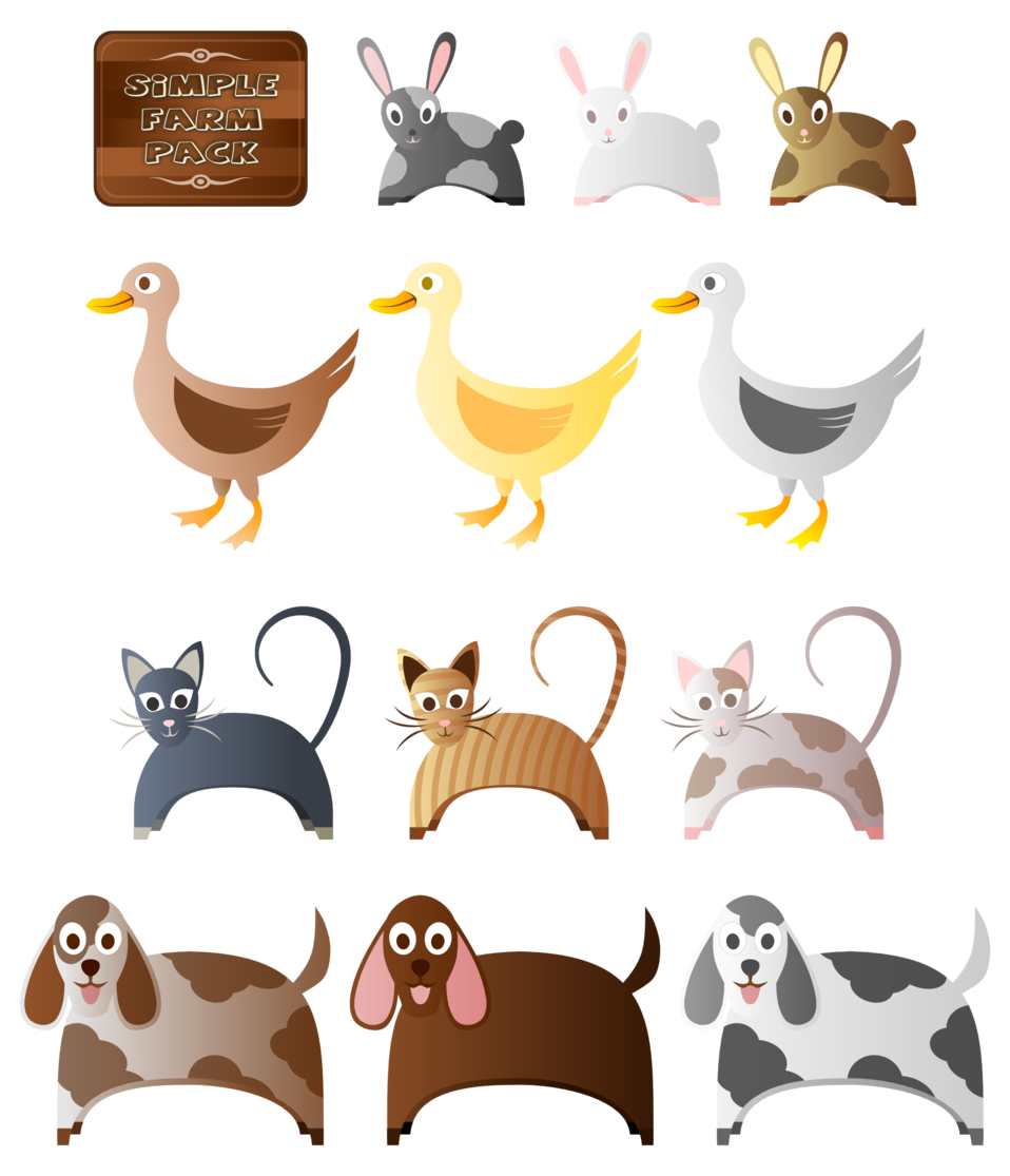 Illustration of pets