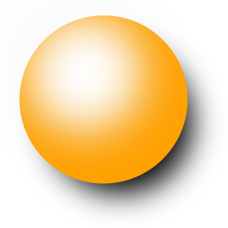 Kugel orange