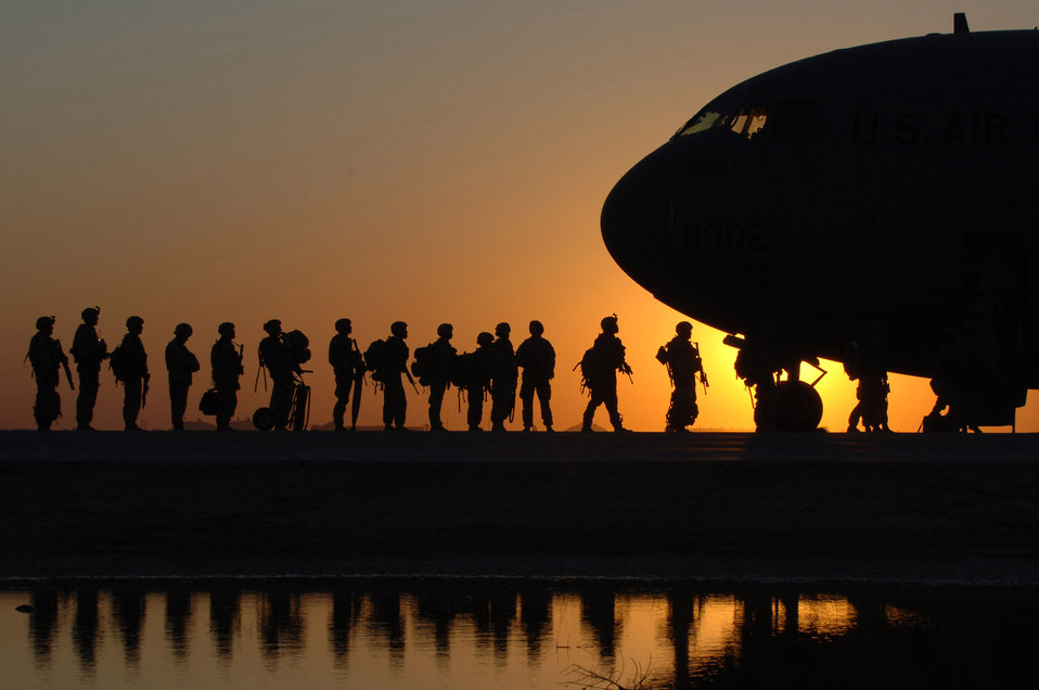 We're boarding, pass it on