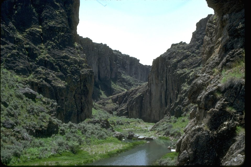 Upper West Little Owyhee Wilderness Study Area.  OR 3-173