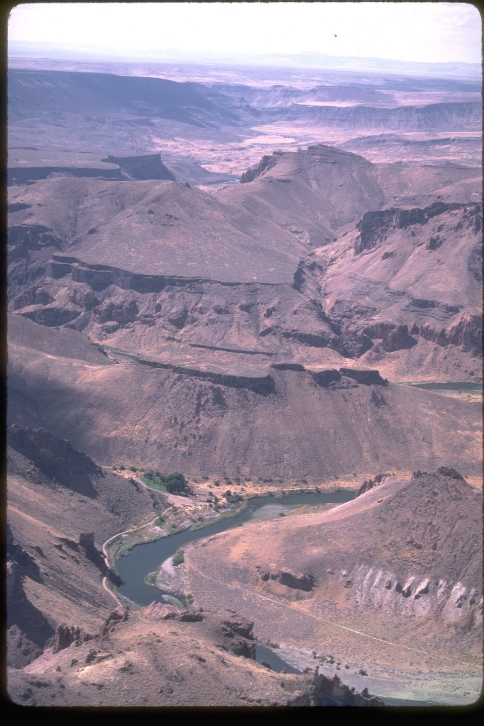 Scenic view of the Owyhee River.  OR 3-59