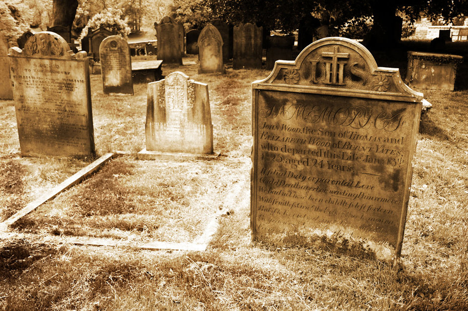 Old grave stones