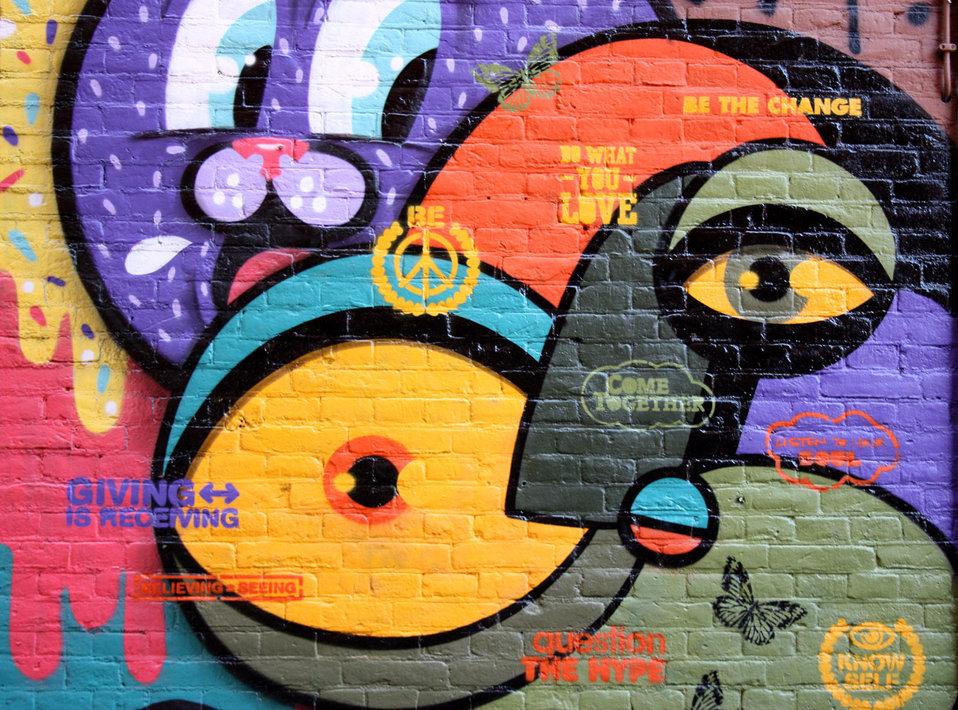 Amsterdam graffiti
