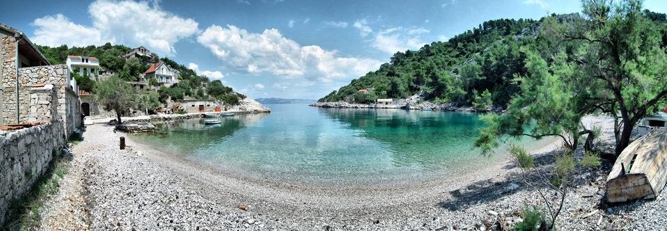 Paradise beach panorama