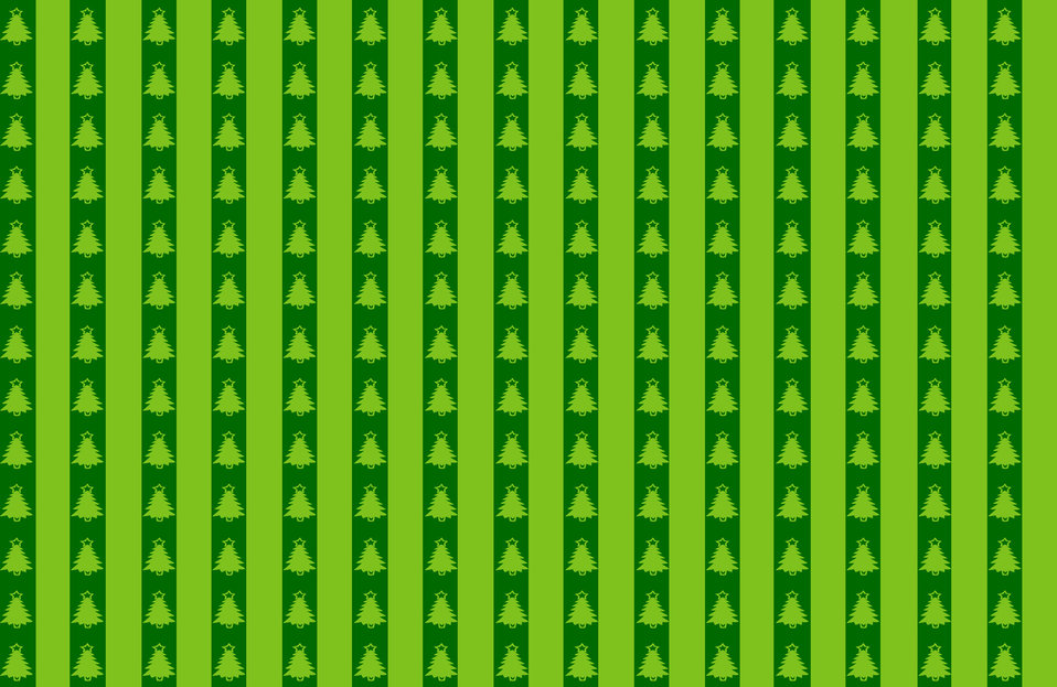 Christmas tree green background