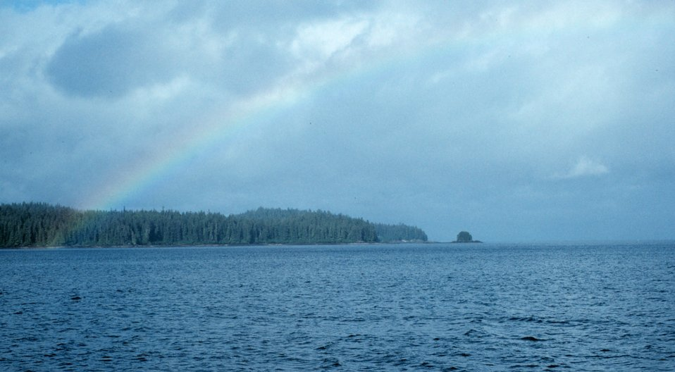 Rainbow in Frederick Sound