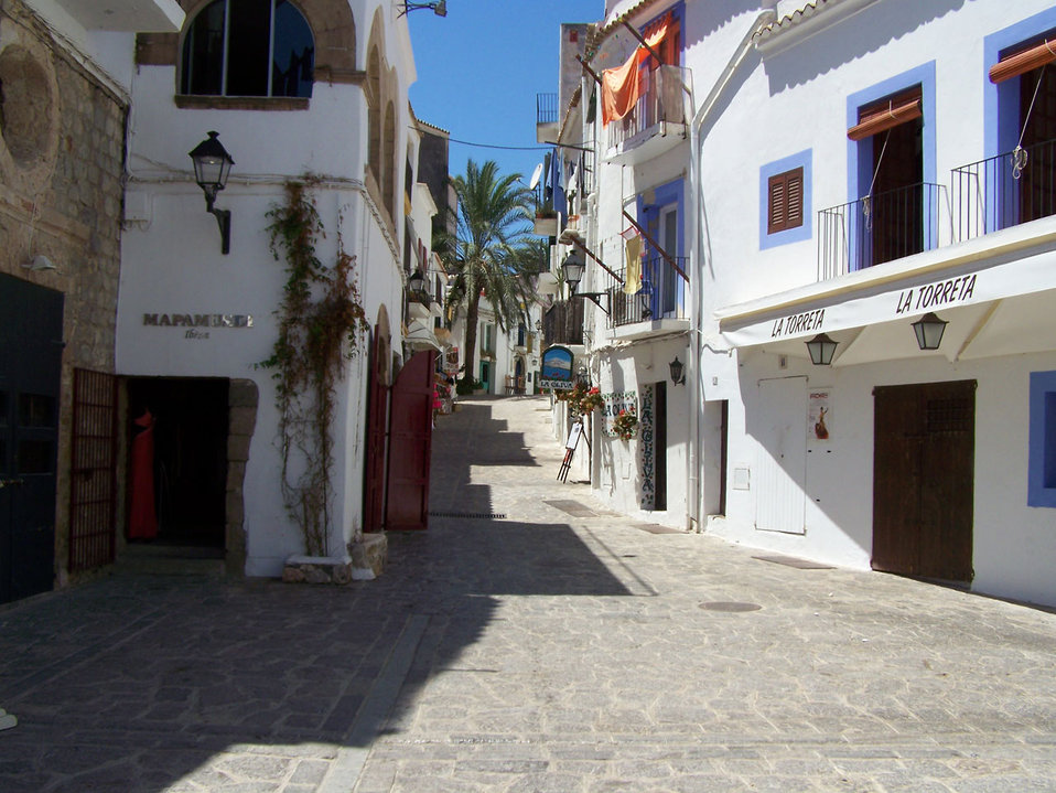 Quiet spanish street
