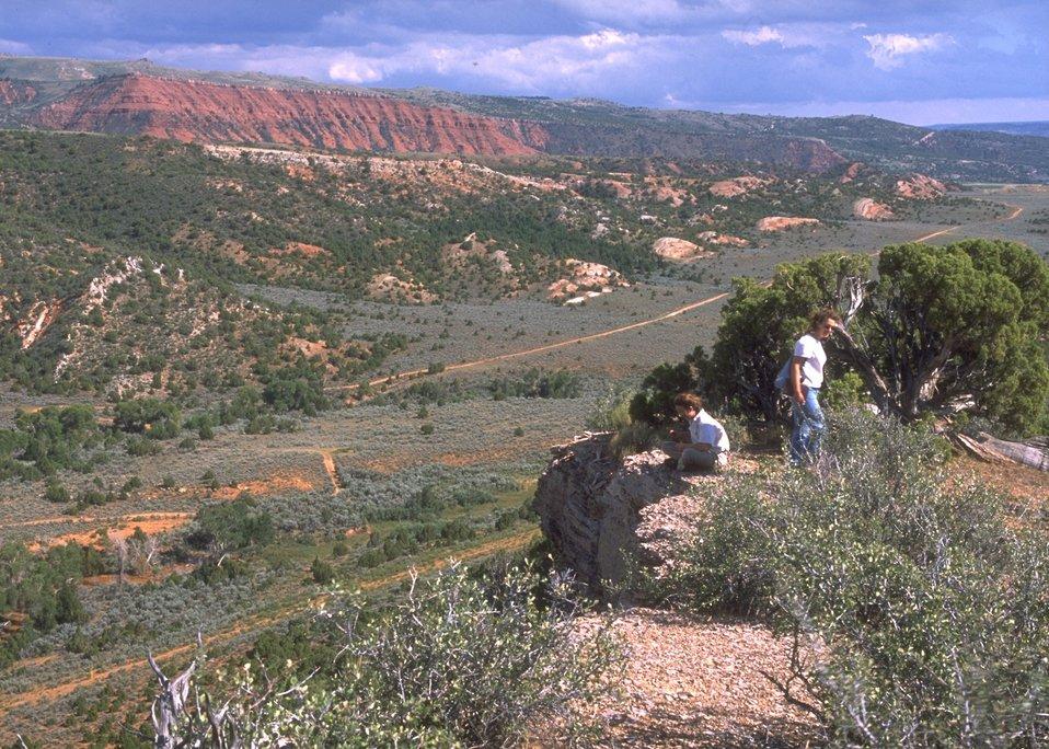 Casper Mountain from Jackson Canyon Area, Casper Field Office.