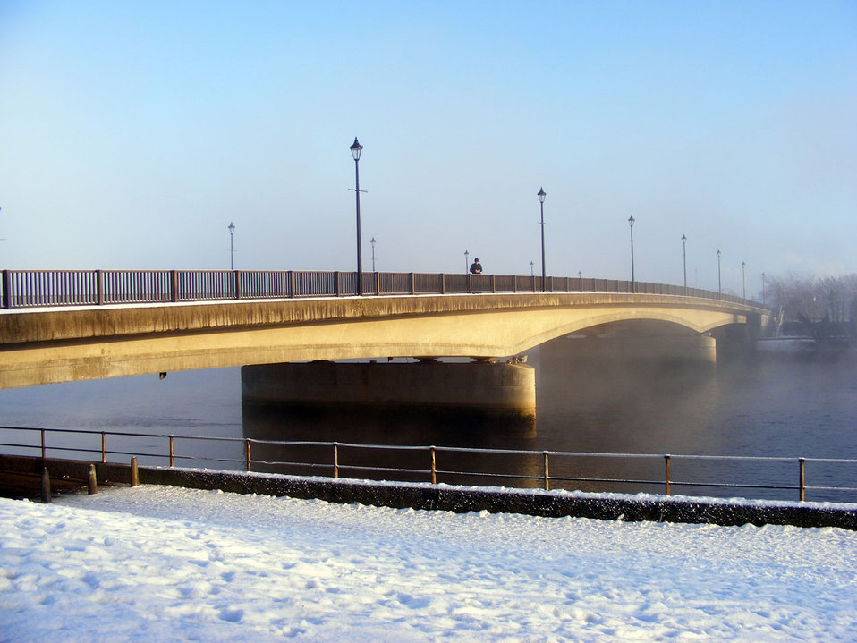 Bridge on the river ness